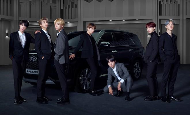 Ban nhạc BTS trở thành đại sứ thương hiệu của dòng Hyundai Palisade 2020