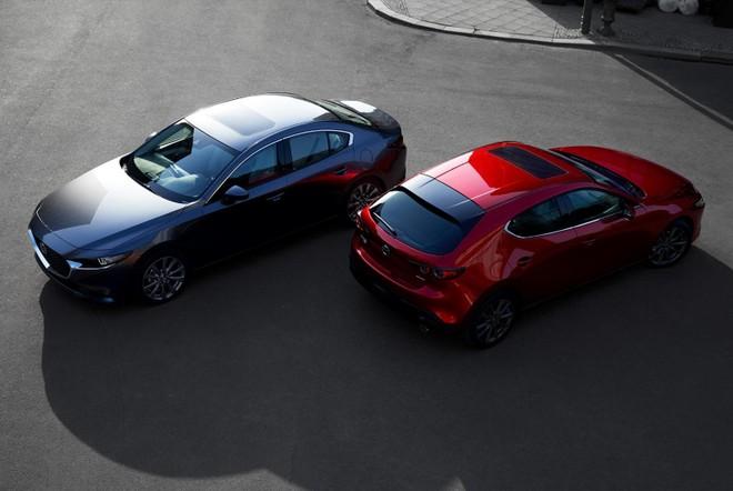 Mazda3 2019 bị rò rỉ hình ảnh trước ngày ra mắt chính thức