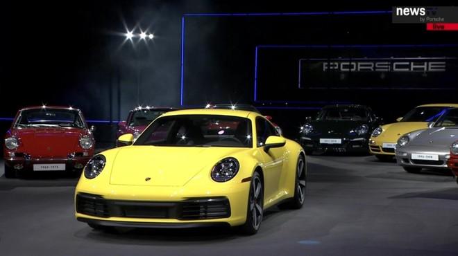 Porsche 911 Carrera 2020 tại triển lãm Los Angeles