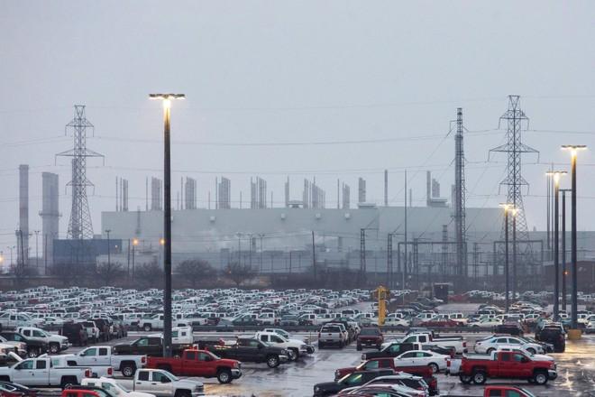 Nhà máy lắp ráp ởOshawa, Ontario, Canada của GM