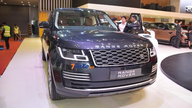 Range Rover Autobiography LWB 2018 chính hãng đầu tiên tại Việt Nam trưng bày ở triển lãm VMS 2018