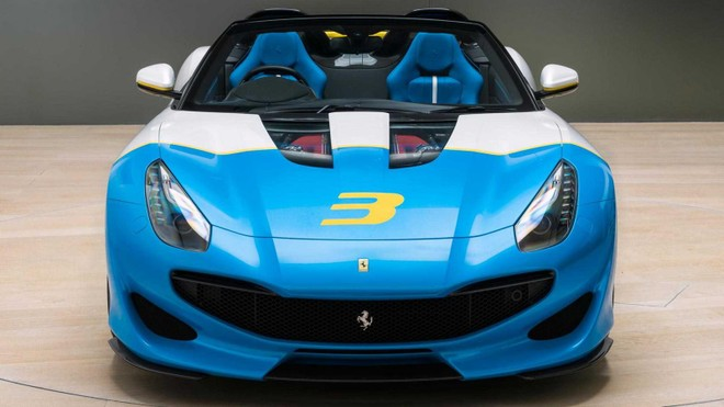 Chiếc Ferrari SP3JC độc nhất vô nhị trên thế giới đã được bàn giao cho chủ nhân