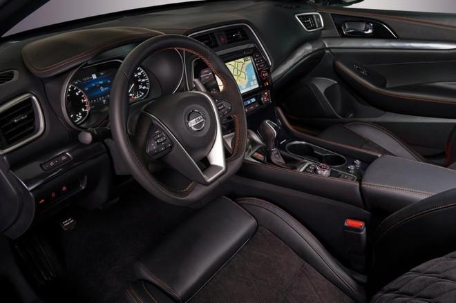 Nội thất Nissan Maxima 2019
