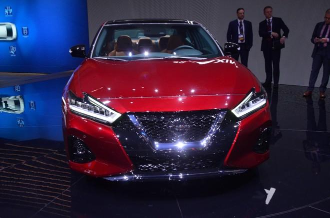 Nissan Maxima 2019 có thiết kế mới
