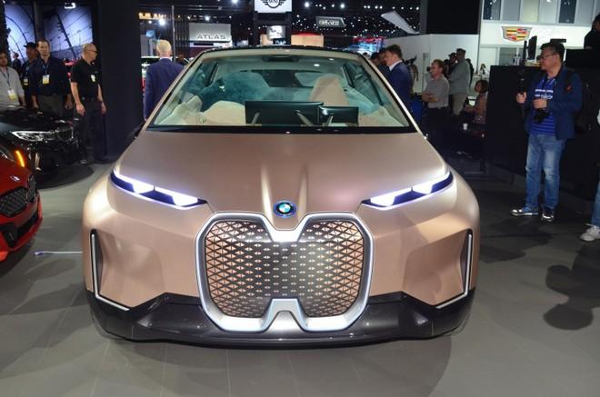 Phần đầu xe của BMW Vision iNext