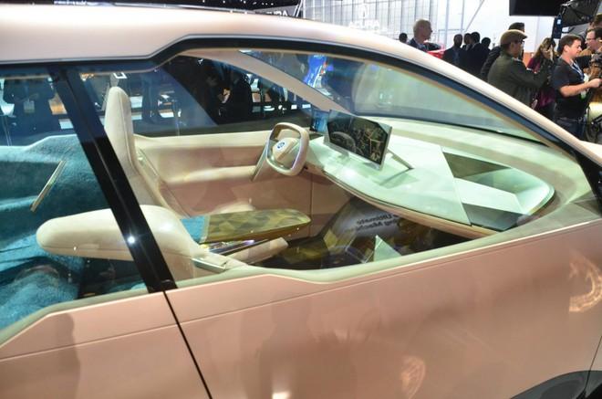 Ghế ngồi bên trên của BMW Vision iNext