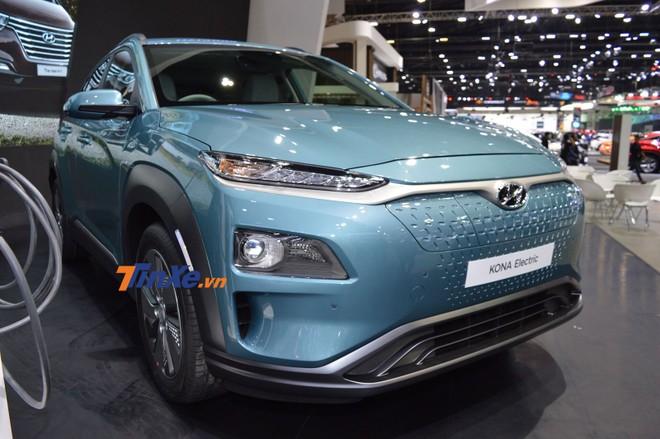Hyundai Kona Electric ra mắt trong triển lãm Thai Motor Expo 2018