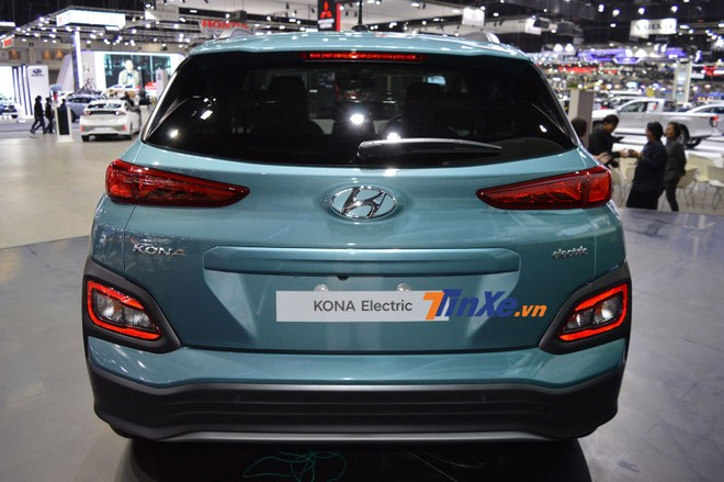 Hyundai Kona Electric có khoang hành lý 373 lít