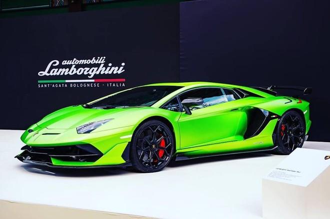 Lamborghini Aventador SVJ chỉ có 963 chiếc được sản xuất trên toàn thế giới