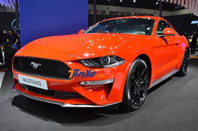 Ford Mustang 2019 tại Thái Lan giá bán khởi điểm 2,55 tỷ đồng