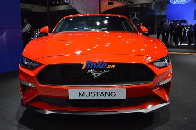 Bản nâng cấp Ford Mustang 2019 ra mắt tại Thái Lan