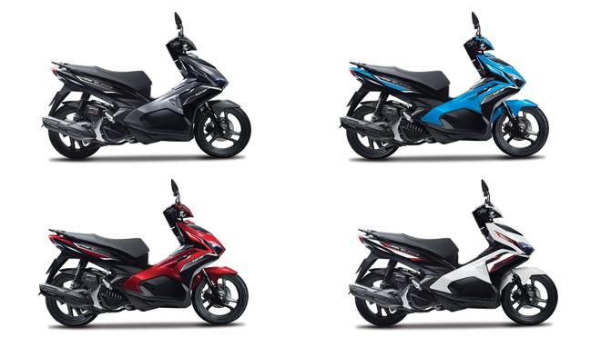 Lựa chọn màu Honda Air Blade bản Tiêu chuẩn