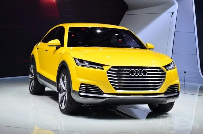 Audi TT Offroad Concept trong triển lãm Ô tô Bắc Kinh 2014