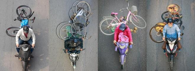 Khi xe đạp chẳng còn quay.