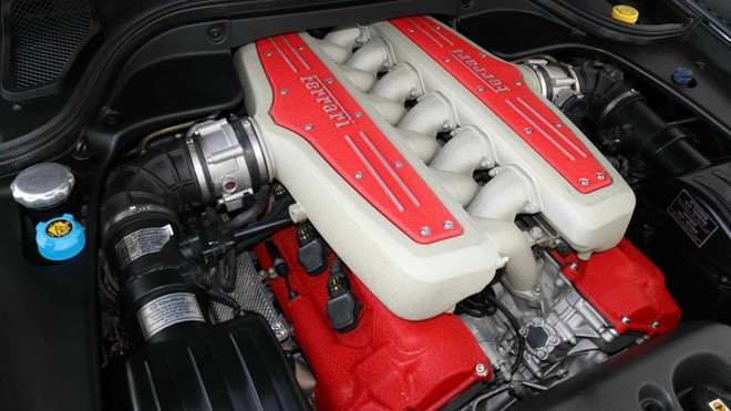 Ferrari 599 GTZ Nibbio Zagato sở hữu công suất tối đa hơn 600 mã lực