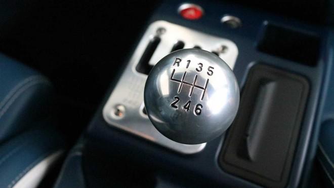 Hộp số kiểu zíc zắc cổ điển của Ferrari 599 GTZ Nibbio Zagato