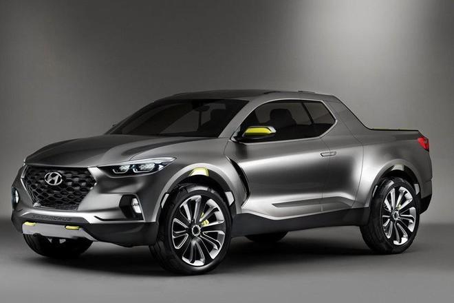 Xe bán tải Hyundai Santa Cruz Concept ra mắt năm 2015
