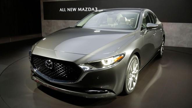Mazda3 2019 ra mắt trong triển lãm Ô tô Los Angeles 2018