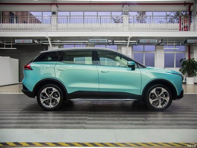 Aiways U5 có kích thước tương đương Hyundai Santa Fe