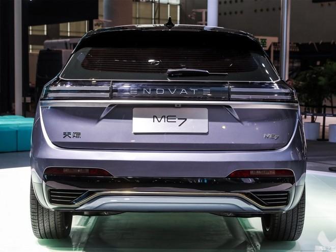 Thiết kế đuôi xe của Enovate ME7 có nét giống Audi Q5