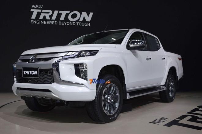 Mitsubishi Triton 2019 ra mắt Thái Lan vào đầu tháng 11 vừa qua