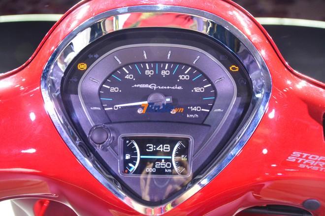 Bảng đồng hồ TFT trên Yamaha Grande bản nâng cấp