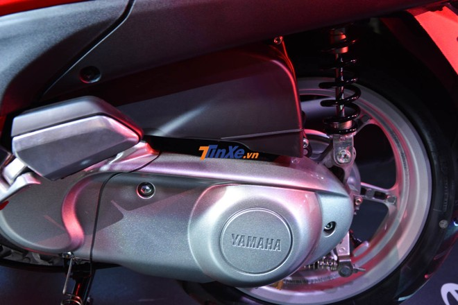 Động cơ Blue Core 125 cc, làm mát bằng không khí trên Yamaha Grande bản nâng cấp