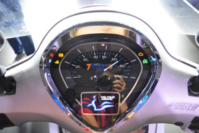 Bảng đồng hồ TFT hoàn toàn mới cho Yamaha Grande 2018