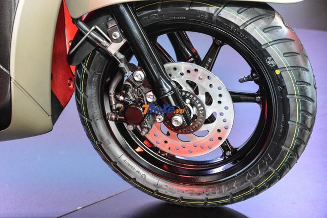 Yamaha Grande 2018 bản đặc biệt được trang bị hệ thống chống bó cứng phanh ABS