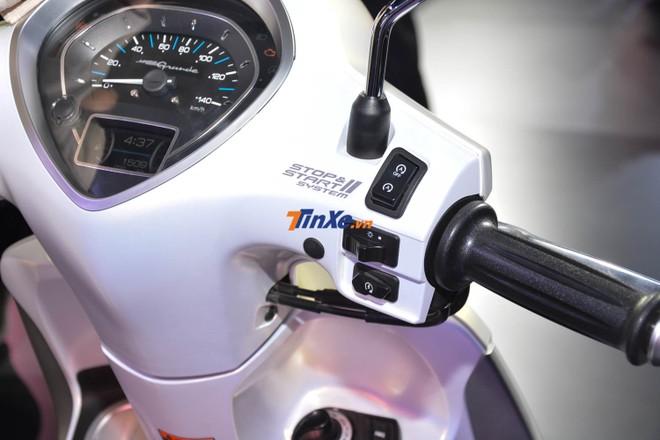 Động cơ Blue Core tích hợp thêm hệ thống trợ lực điện Hybrid trên Yamaha Grande bản nâng cấp sẽ giúp xe tăng 7% mô-men xoắn cực đại