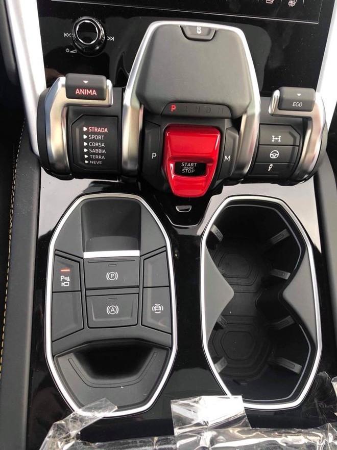 Chế độ lựa chọn lái Anima trên siêu SUV Lamborghini Urus