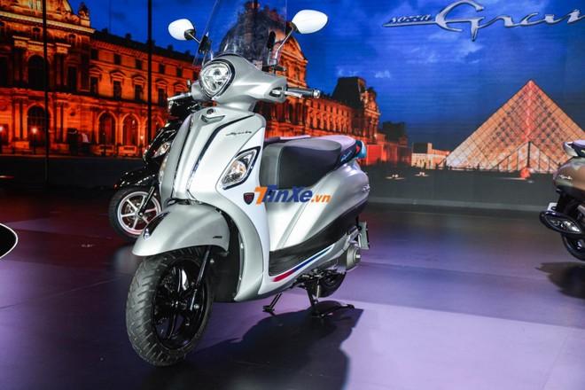 Yamaha đã có 20 năm chinh chiến tại Việt Nam và để kỷ niệm cột mốc này, hàng loạt mẫu xe của hãng đều được cho ra mắt phiên bản 20 năm