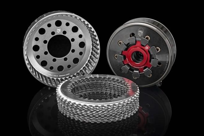 Bộ côn khô của Ducati Panigale V4 R sẽ do STM sản xuất