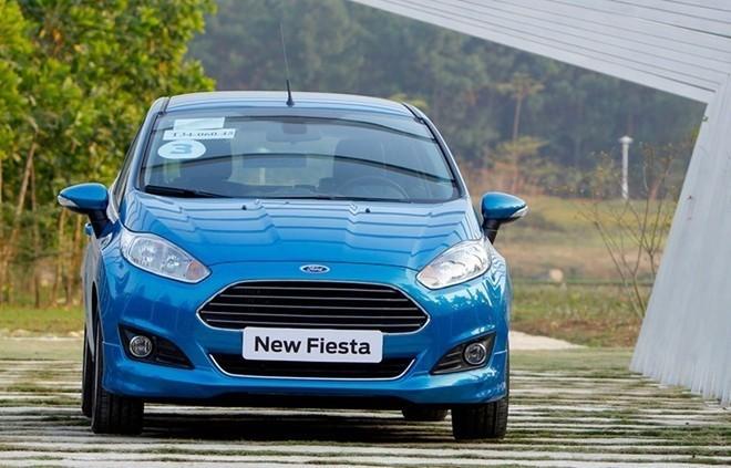 Ford Fiesta cũng là mẫu xe thuộc diện triệu hồi