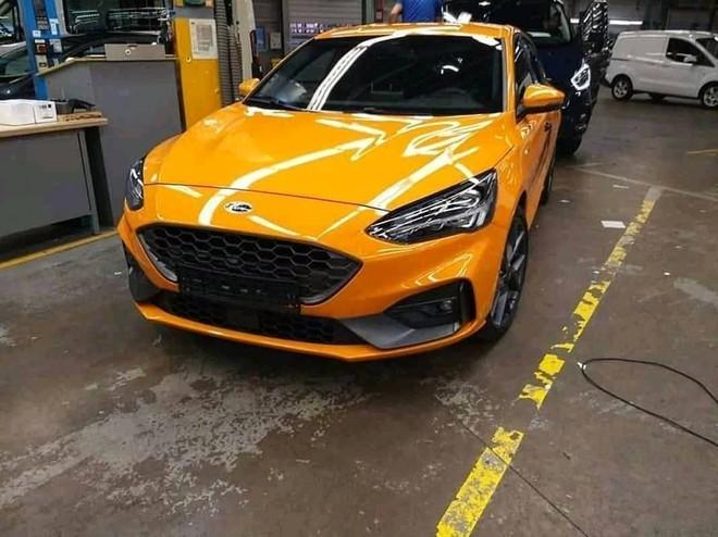 Hình ảnh rò rỉ của Ford Focus ST 2019