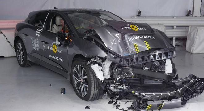Jaguar I-Pace đạt kết quả an toàn cao nhất của Euro NCAP