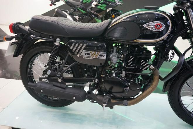 Kawasaki W175 bản đặc biệt của Motorrock có thêm khá nhiều phụ kiện