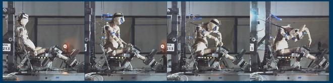 Quá trình chuyển động của một thi thể trong thử nghiệm va chạm ô tô