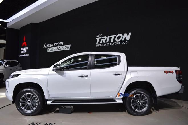 Mitsubishi Triton 2019 được bổ sung vành la-zăng mới