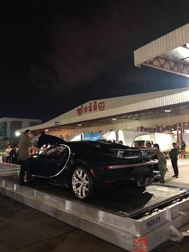 Bugatti Chiron ở Campuchia ước tính có giá bán không dưới 3,4 triệu đô la, tương đương 79 tỷ đồng