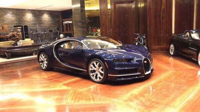 Bugatti Chiron đầu tiên cập bến Campuchia