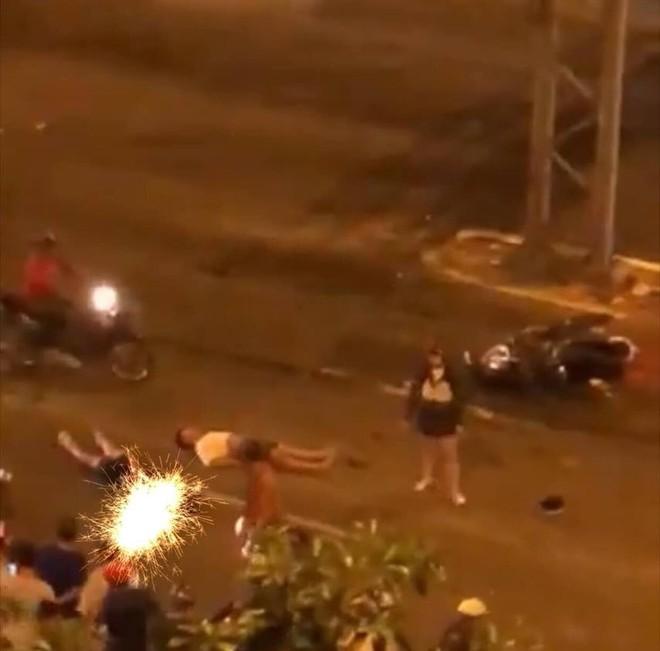 Không chỉ Hà Nội, TP Hồ Chí Minh cũng trong tình trạng tương tự với vụ tai nạn xảy ra tại Đại lộ Võ Văn Kiệt