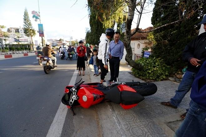 Chiếc Ducati Panigale 959 mới cứng vẫn chưa đeo biển số