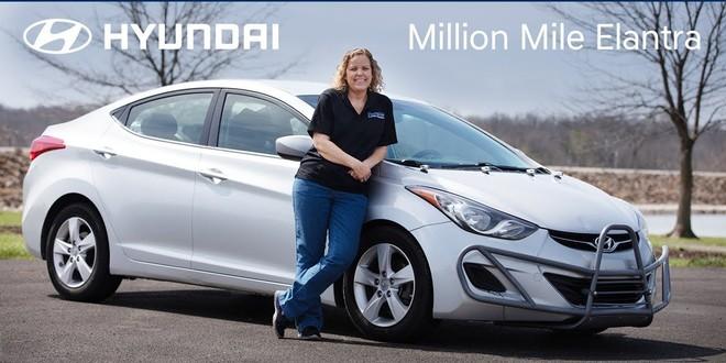 Chân dung bà Haines, chủ nhân của chiếc Hyundai Elantra
