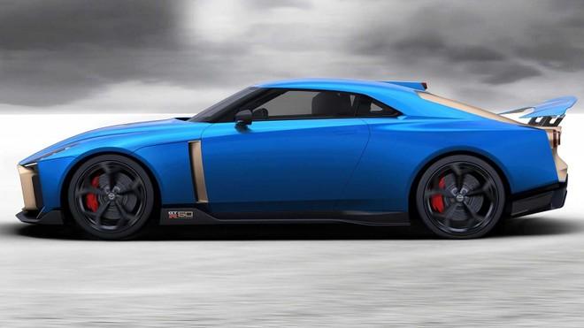 Nissan GT-R50 chỉ được sản xuất đúng 50 chiếc