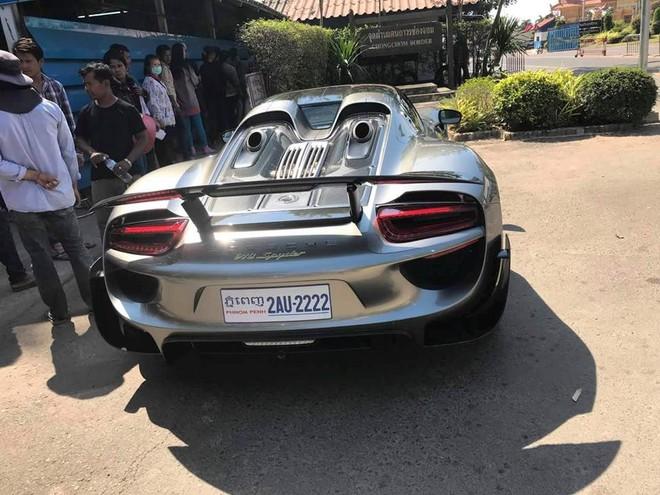 Trên thế giới chỉ có 918 chiếc Porsche 918 Spyder được sản xuất