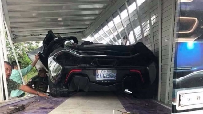 Chiếc siêu xe triệu đô McLaren P1 này đeo biển tứ quý 2