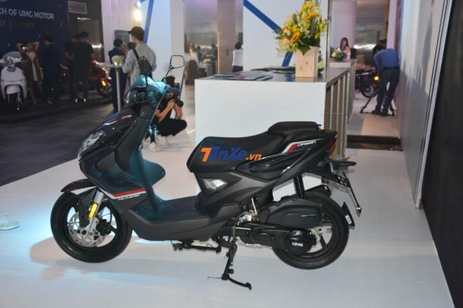 UMG Motor Damon 125cc sẽ được bán ra thị trường Việt Nam với 4 màu sắc chính là đen