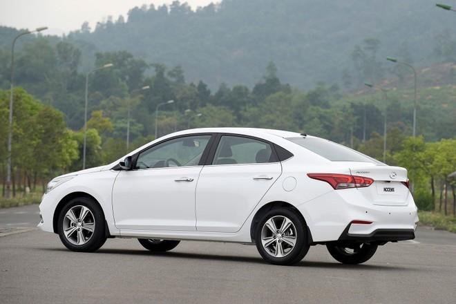 Hyundai Accent là mẫu xe bán chạy nhất của Hyundai tháng thứ 2 liên tiếp