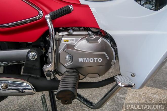 Động cơ 109cc của WMoto Cub Classic